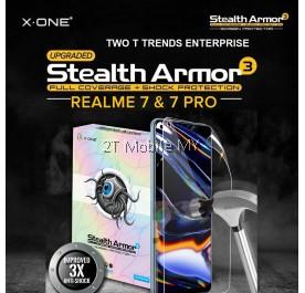 Realme 8 / Realme 8 Pro / RealMe 7 / RealMe 7 Pro X-One Stealth Armor 3 Clear / Matte Screen Protector Anti Shock Film