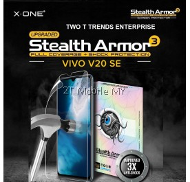 Vivo V20 SE X-One Stealth Armor 3 Clear / Matte Screen Protector Anti Shock Film