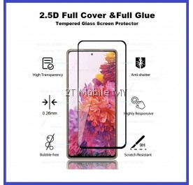 Samsung Galaxy S20 FE Full Glue Cover Tempered Glass Screen Protector