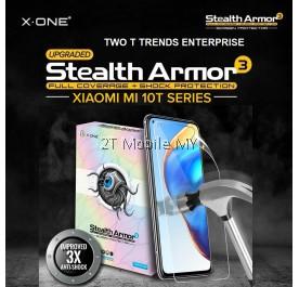 XiaoMi Mi 10T / Mi 10T Pro / Mi 10T Lite X-One Stealth Armor 3 Clear / Matte Screen Protector Anti Shock Film ORI