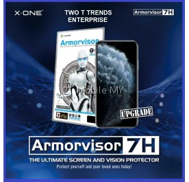 Apple iPhone 12 / 12 Pro / 12 MIni / 12 Pro Max X-One Armorvisor Anti Bluelight Screen Protector 7H 4th Gen Ori