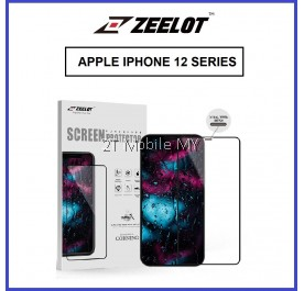 Apple iPhone 12 / 12 Mini / 12 Pro 12 Pro Max Zeelot Steel Wire 2.5D Tempered Glass Clear / Matte / Anti-Blue / Privacy
