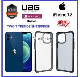 Apple iPhone 12 / 12 Mini / 12 Pro / 12 Pro Max UAG Mouve Transparent Protection U by UAG Case Bumper Case ORIGINAL