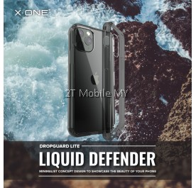 Apple iPhone 12 / 12 Mini / 12 Pro / 12 Pro Max X-One Liquid Defender Clear Transparent Slim Case Cover Original