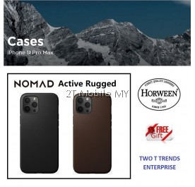 Apple iPhone 12 / 12 Mini / 12 Pro / 12 Pro Max Nomad Active Rugged Leather Case Bumper Cover ORI