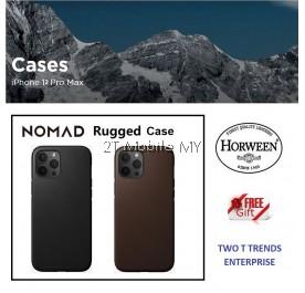 Apple iPhone 12 / 12 Mini / 12 Pro / 12 Pro Max Nomad Rugged Leather Case Bumper Magsafe Cover ORI