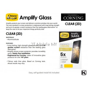 Apple iPhone 12 / 12 Mini / 12 Pro / 12 Pro Max Otterbox Amplify / Alpha Clear / Privacy Tempered Glass Screen Protector
