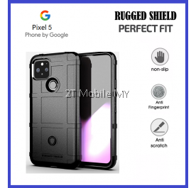 Google Pixel 5 Full Protection Armor Rugged Shield Bumper TPU Case Cover