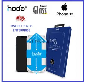 Apple iPhone 12 / 12 Mini / 12 Pro / 12 Pro Max Hoda 0.23mm 3D Illusion Sapphire Screen Protector Helper ORI