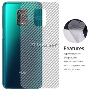 Sony Xperia 1 II / Xperia 5 II / Xperia 10 II Back Carbon Matte Film Protector Anti Fingerprint