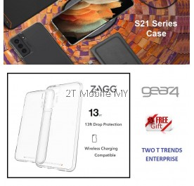 Samsung Galaxy S21 / S21 Plus / S21 Ultra / S21+ Zagg Gear4 Crystal Palace Protected By D3O Case Bumper Cover ORI