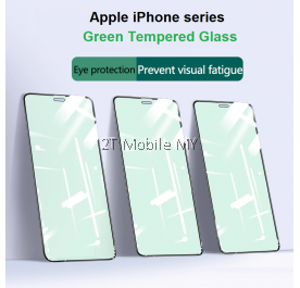 Apple iPhone 11 / XS / 11 Pro / XR / 11 Pro Max / XS Max Eye Protect Green Light Tempered Glass Screen Protector