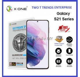 Samsung Galaxy S21 / S21 Plus / S21+ X-One Extreme Shock Eliminator 7H 4th Gen Screen Protector