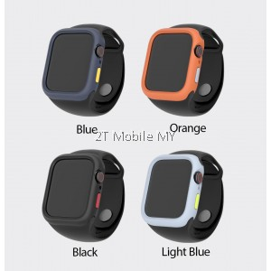 Apple Watch 44mm 42mm S3 S4 S5 S6 SE Hoda Rough Military Case comes with extra button ORI