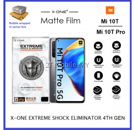 XiaoMi Mi 10T / Mi 10T Pro X-One Extreme Shock Eliminator 7H 4th Gen Matte Screen Protector ORI