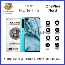 OnePlus Nord X-One Extreme Shock Eliminator 7H 4th Gen Matte Screen Protector ORI