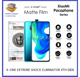 XiaoMi Pocophone F2 Pro / K30 Pro X-One Extreme Shock Eliminator 7H 4th Gen Matte Screen Protector ORI