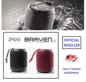 Zagg Braven BRV MINI Rugged Portable Speaker IPX7 Waterproof Bluetooth 5W ORI