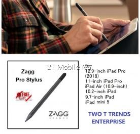 Zagg Pro Stylus Apple 12.9-inch iPad Pro 2018 11-inch iPad Pro, iPad Air 10.9-inch 10.2-inch, 9.7-inch iPad, iPad mini 5