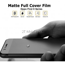 Oppo Find X3 Pro / Find X2 Pro / Find X3 Front Back Matte Anti-Fingerprint Soft Hydrogel Full Screen Protector