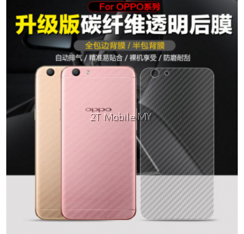 XiaoMi RedMI Note 4 RedMi 4A Carbon Fiber Back Film Screen Protector