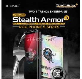 Asus ROG Phone 5 / ROG Phone 3 X-One Stealth Armor 3 Clear / Matte Screen Protector Anti Shock Film ORI