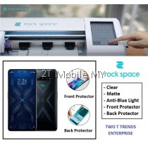 XiaoMi Black Shark 4 / Black Shark 4 Pro Rock Space Clear Matte Anti Blue Light Hydrogel Screen Protector Rockspace
