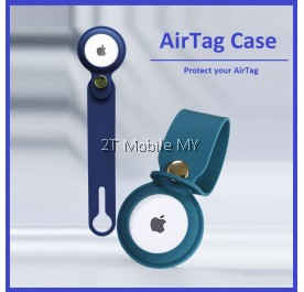 Apple AirTag Transparent / Solid Colour Protective Case Silicone Soft Case Long Strip