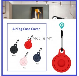 Apple AirTag Protective Case Silicone Soft Case With Keychain New Design