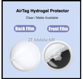 Apple Airtag Full Screen Protector Front Back Protective Soft Hydrogel
