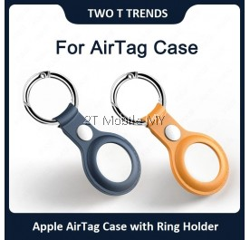 Apple AirTag Air Tag Matte Case Silicone TPU Protective Cover