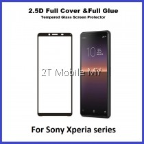 Sony Xperia 10 III Xperia 5 III Xperia 1 III Xperia 10 II Xperia 1 II Full Glue Cover Tempered Glass Screen Protector