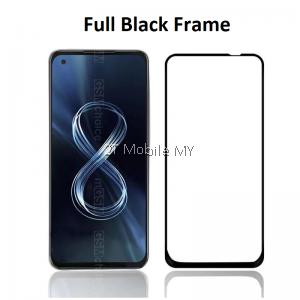 Asus Zenfone 8 / Zenfone 8 Flip 2.5D Full Glue Cover Tempered Glass Screen Protector