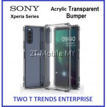Sony Xperia 1 III / Xperia 10 III Acrylic Transparent Case Slim Bumper Fusion Cover
