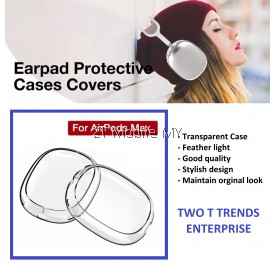 Apple Airpod Max Slim Transparent Case Protective Cover