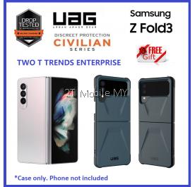 Samsung Galaxy Z Flip 3 / Z Fold 3 2021 UAG Civilian Series Military Drop Protection Case Bumper Cover ORI