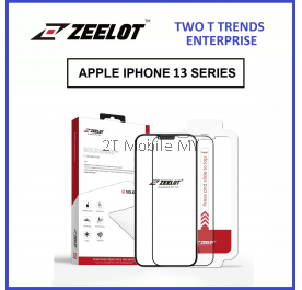 Apple iPhone 13 / iPhone 13 Pro / iPhone 13 Pro Max Zeelot Solidsleek Full Tempered Glass with Tools