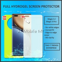 Huawei Honor Magic 3 / Magic 3 Pro Full Cover Front Back Soft Hydrogel Screen Protector