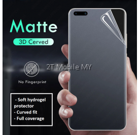 Huawei Honor Magic 3 / Magic 3 Pro Front Back Matte Anti-Fingerprint Full Soft Hydrogel Screen Protector