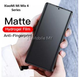 XiaoMi Mi Mix 4 Matte Anti-Fingerprint Front Back Full Screen Protector Soft Hydrogel