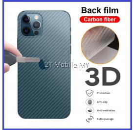 Apple iPhone 13 / 13 Mini / 13 Pro / 13 Pro Max Back Carbon Matte Film Protector Anti Fingerprint