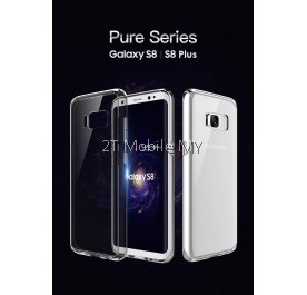Samsung Galaxy S8 S8 Plus Rock Pure Series Bumper Transparent TPU Case