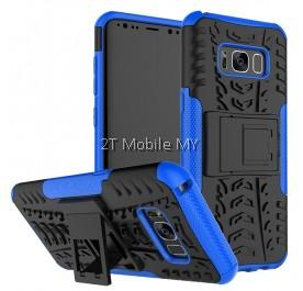 Samsung Galaxy S8 S8 Plus Rugged Combo Kickstand Tough Armor Case Cover