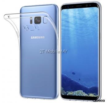 Samsung Galaxy Note 8 S8 S8 Plus Soft Transparent Case Slim TPU Cover