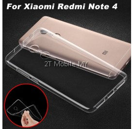 XiaoMi RedMi Note 4X RedMi 4A Soft Transparent Case Slim TPU Cover