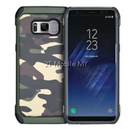 Samsung Galaxy S8 S8 Plus Trendy Camo Army Military Protective Tough Case