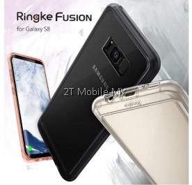 Free GIft Samsung S8 S8 Plus Ringke Fusion Slim Air Prism Onyx Flex S Case