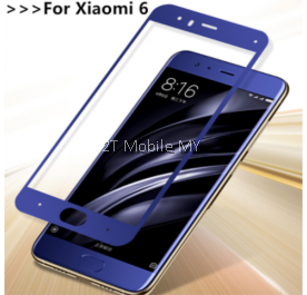 XiaoMi Mi6 Max 2 Full Colour Tempered Glass Screen Protector