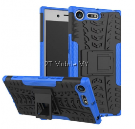 Sony XPeria XZ Premium Rugged Combo Kickstand Tough Armor Case Cover