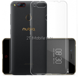 ZTE Z17 Mini M2 Z11 Soft Transparent Case Slim TPU Cover